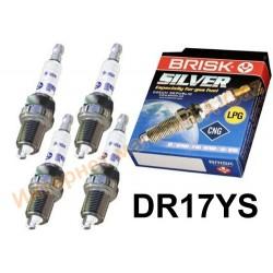 Свечи зажигания Brisk Silver DR17YS (4 шт)