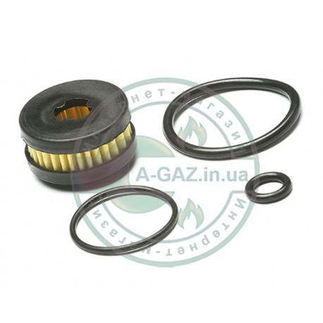 Фильтр в газовый клапан Atiker, Mimgas, Fema с 3 резинками