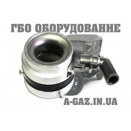 Смеситель ваз инжектор диаметром 62 мм с антихлопковым клапаном (штуцер угловой)