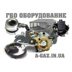 Миникомплекты ГБО 2 поколения на инжектор (редуктор Tomasetto, эмулятор Stag, смеситель Ваз инжектор, переключатель Stag 2 w )