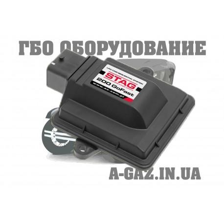 Электронный блок управления Stag 200 Go Fast на 4 цилиндра