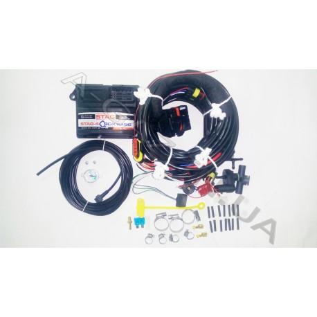 Электроника последовательного впрыска газа Stag 4 QBox basic (WEG-AMA023409999-300)