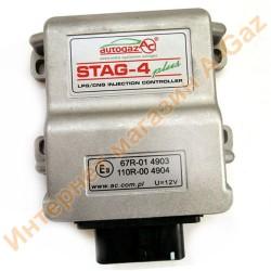 Блок управления Stag-4 Plus 4 цилиндра (W1Y-0304-P)