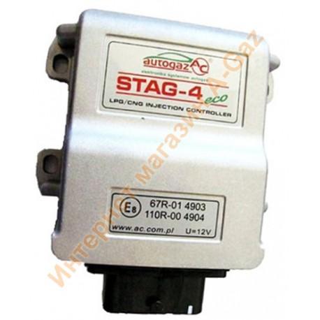 Блок управления Stag-4 Eco 4 цилиндра (W1Y-0304-Eco)