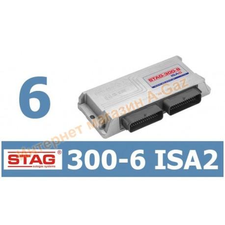 Блок управления Stag-300 ISA2 6 цилиндров (W1Y-0300-6-ISA)