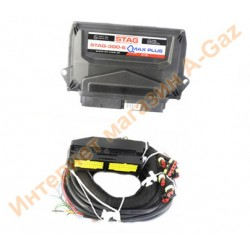 Блок управления Stag-300 QMAX PLUS 6 цилиндров
